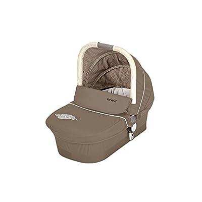 BREVI 741398Zwilling carro Ovo–Twin–Soft de bañera, color marrón