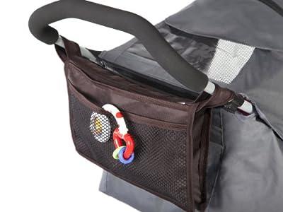 Kutnik Bolsa de almacenamiento para cochecitos paraguas - Marron chocolate