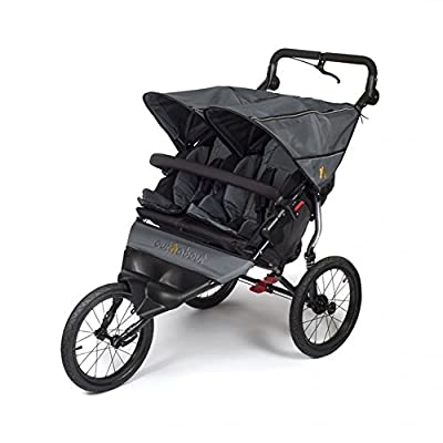 Out n About Nipper Sport Double Pushchair Grey